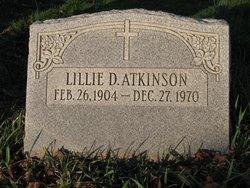 Lillie Della <i>Gunn</i> Atkinson