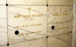 Mary Ellen <i>Plant</i> Whitaker
