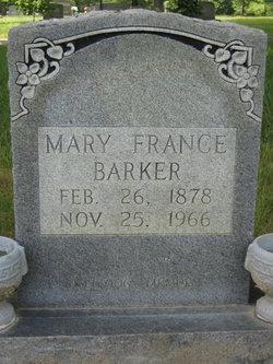 Mary <i>France</i> Barker