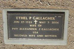 Ethel P Gallagher