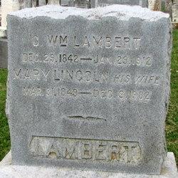 Mary <i>Lincoln</i> Lambert