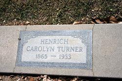 Carolyn Turner <i>Signor</i> Henrich