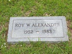 Roy W. Alexander