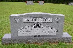 Mary Frances <i>Baker</i> Balderston