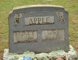 Cordie <i>Carter</i> Apple