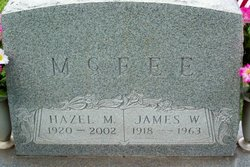 James Woodrow McFee
