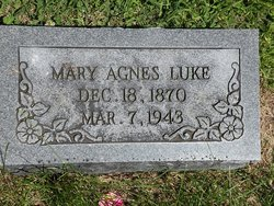 Mary Agnes <i>Leemon</i> Luke