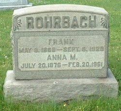 Anna Mary <i>Fox</i> Rohrbach