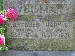 Orsemus N Yeoman