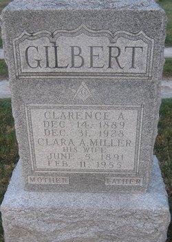 Clara A <i>Miller</i> Gilbert