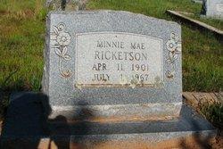 Minnie Mae <i>Weeaks</i> Ricketson