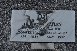 Pvt Henry H. Bailey