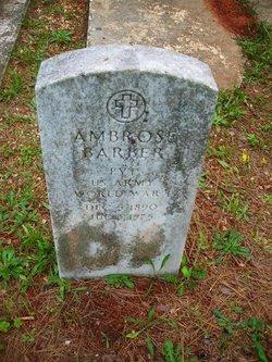 Ambrose Barber