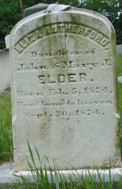 Eliza Rutherford Elder