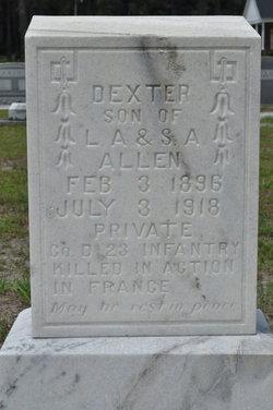 Pvt Dexter Allen