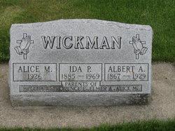 Albert A Wickman