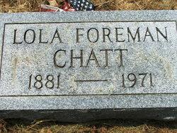 Lola Elizabeth Chatty <i>Foreman</i> Chatt