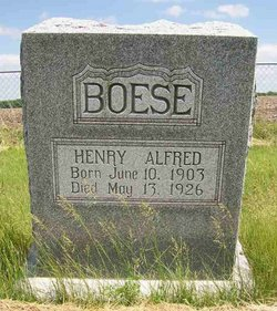 Henry Alfred Boese