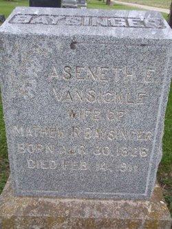 Aseneth E. <i>VanSickle</i> Baysinger