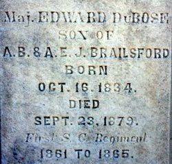 Maj Edward DuBose Brailsford