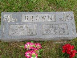 Ella May <i>Buntin</i> Brown
