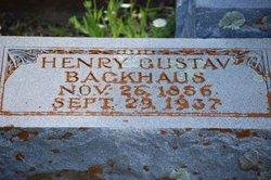 Henry Gustav Backhaus