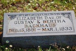 Elizabeth Backhaus