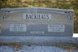 Ernest Gust Backhaus