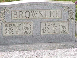 Cora Lee <i>Shaw</i> Brownlee