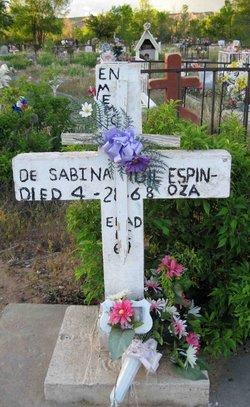 Sabina <i>Vigil</i> Espinoza