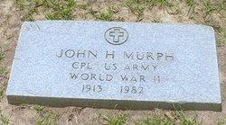 Corp John Harold Murph