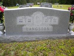 Flora I. <i>Clark</i> Langston