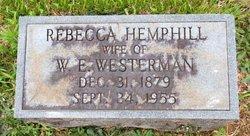 Rebecca <i>Hemphill</i> Westerman