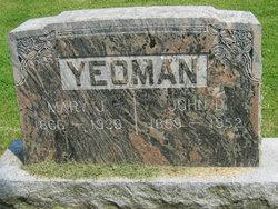 Mary Jane <i>Jones</i> Yeoman