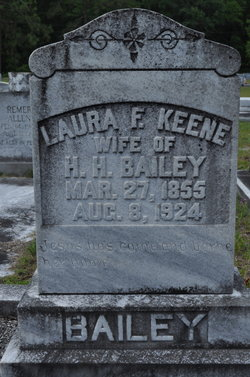 Laura F. <i>Keene</i> Bailey