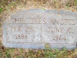 Ethel <i>Dees</i> Knotts