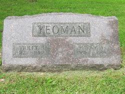 Violet J <i>Lewis</i> Yeoman