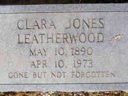 Clara <i>Jones</i> Leatherwood