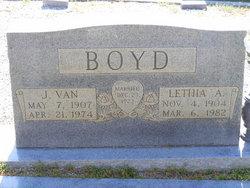 Lethia A Boyd