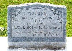 Bertha Leola <i>Jemison</i> Everitt