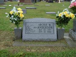Archie M Anderson