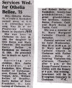Otthelia C <i>Berns</i> Bellee