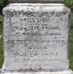 Betsey W. <i>Gibbs</i> Vickery