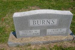 Thelma R. <i>Reed</i> Burns