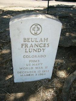 Beulah Frances Lundy