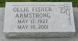 Ollie <i>Fisher</i> Armstrong