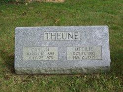 Carl H Theune