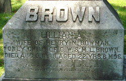 Lillian A <i>Brown</i> Bowman