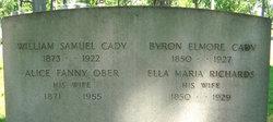 Alice Fanny <i>Ober</i> Cady