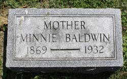 Minnie <i>Allfree</i> Baldwin